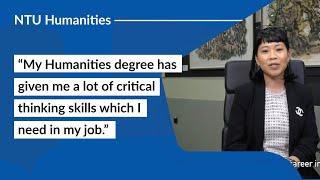 Career Options with NTU School of Humanities: Diyanah