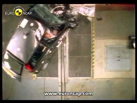 fiat punto 1997 euro ncap crash test youtube. Black Bedroom Furniture Sets. Home Design Ideas