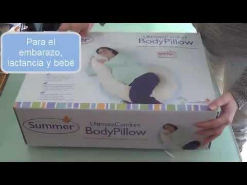 ee45032f0 Almohada para el embarazo de Summer Infant - YouTube