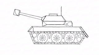 Как пошагово нарисовать танк: инструкция от EvriKak(Предлагаем нашу пошаговую инструкцию как рисовать карандашом танчик. Фото и текстовая инструкция у нас..., 2015-11-20T14:42:30.000Z)