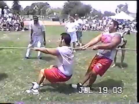 2003 Whittier High School Football Lineman Competition