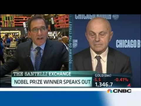 Eugene Fama Educates Rick Santelli Re. Interest Rates - There Is So Much Confusion In What You Said