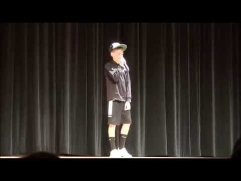 Drew Original Rap Song   Bay View Middle School Variety Show 52115