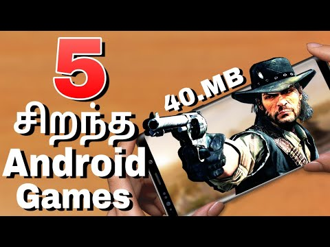 Top 5 Android Games Under [40 Mb] 2018 In Tamil (தமிழ்)