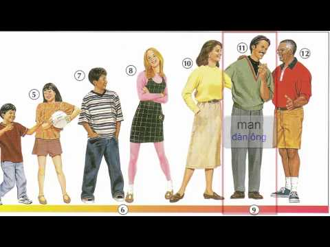 Oxford dictionary | Lesson 16: Age and Physical Description | Learn English