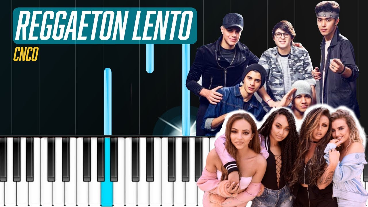 how to play reggaeton on piano easy