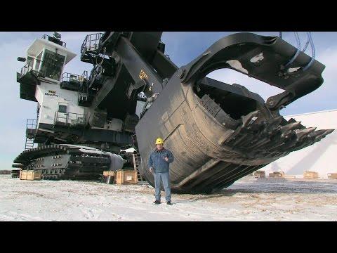 Самый большой механический экскаватор в мире P&H 4100 XPB