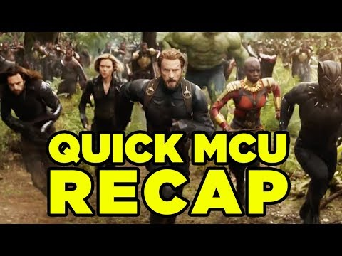 AVENGERS INFINITY WAR - Everything You Need to Know (MCU Wrap-Up) #MCURewatch