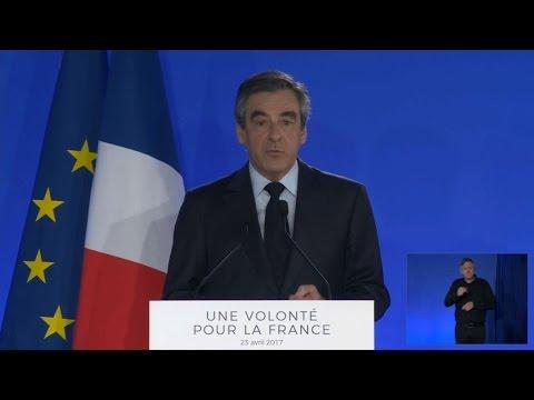 Présidentielle 2017: la déclaration de François Fillon en intégralité