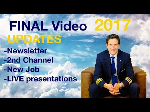 FINAL VIDEO in 2017/UPDATES for 2018 by CAPTAIN JOE