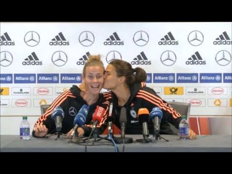 FIFA Women's World Cup Canada 2015:Germany National Football Team: Laudehr ,  Marozsanインタビュー