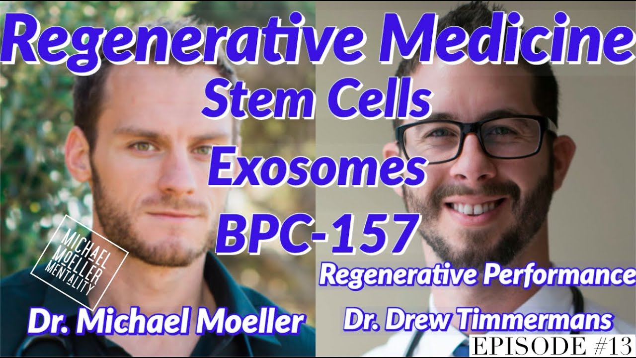 Stem Cells, Exosomes, BPC-157: #RegenerativeMedicine