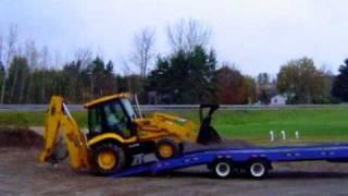 15 Ton Capacity Equipment Trailer A53-5528