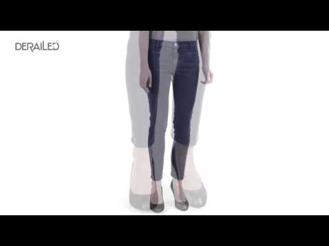 MiH Jeans The Paris Skinny Jeans - Cropped (For Women)