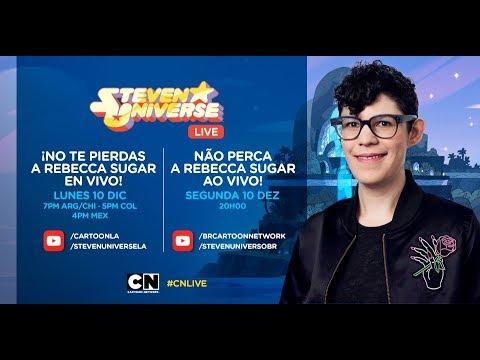 CN LIVE | Fan Chat Con La Creadora De Steven Universe: Rebecca Sugar