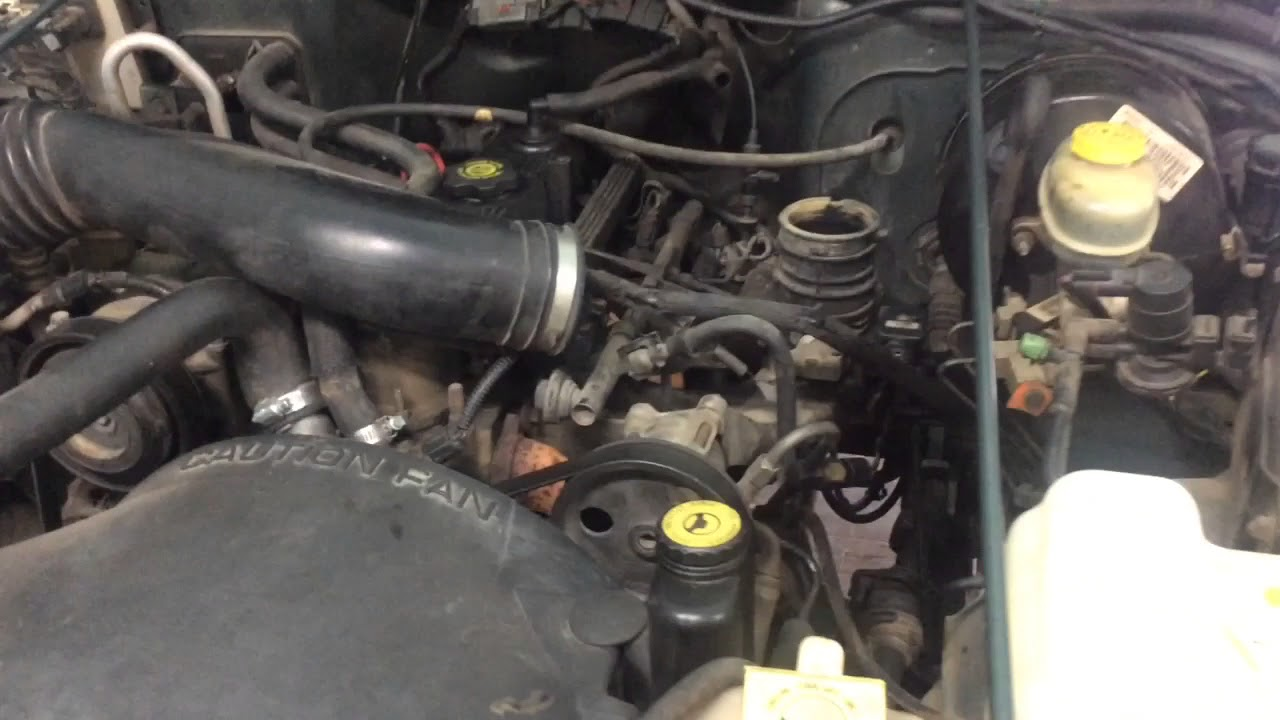 jeep tj front suspension diagram nissan x trail t31 stereo wiring intake great installation of wrangler 2 5 vapor or vacuum hose line question youtube rh com drivetrain