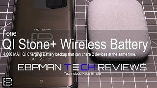 Review of the QiStone+ Wireless Battery Pack for the Apple iPhone and Samsung S9