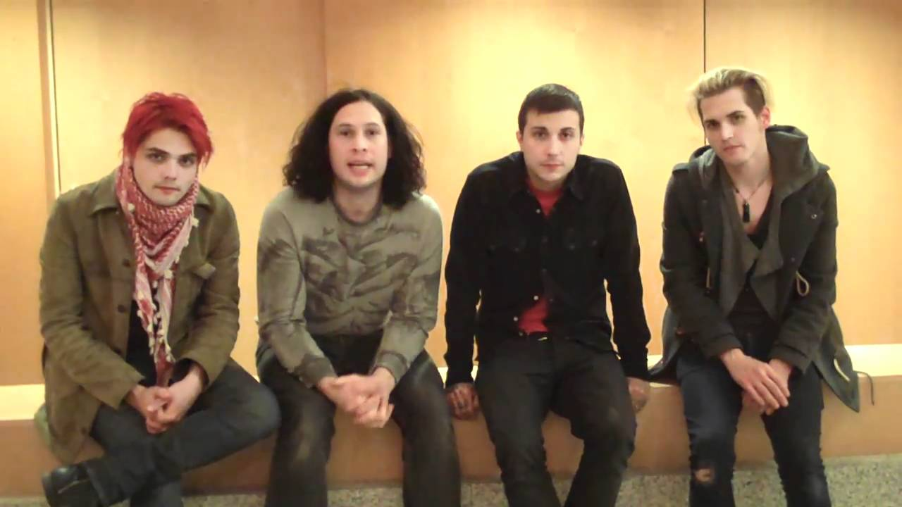 my chemical romance a message to japan youtube