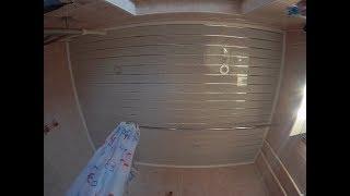 Переделываем реечный потолок в пластиковый
