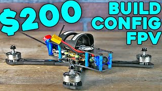 $200 FPV Drone Build & Set Up! - The Rotor Riot Budget Build