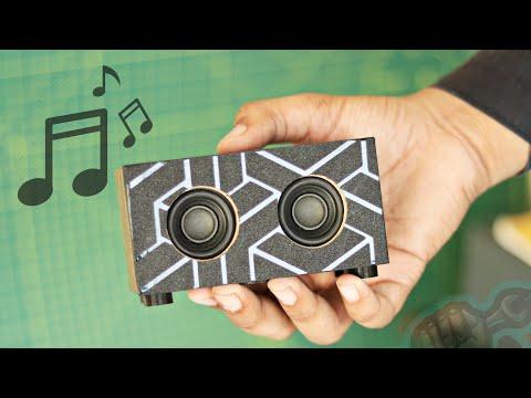 WOW! Amazing DIY Bluetooth Speaker Build