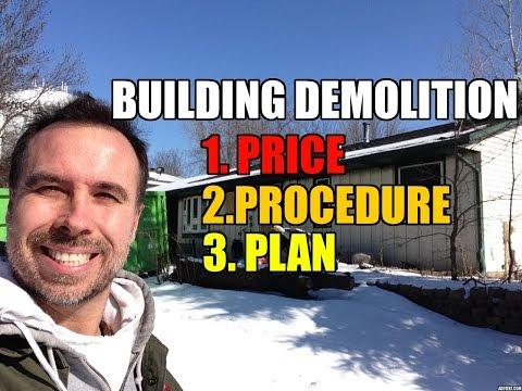 How to Demolish Buildings - Price, Procedure and Plan
