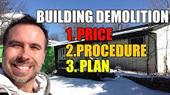 How to Demolish Buildings - Price, Procedure and Plan