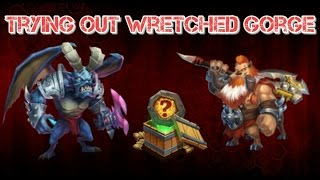 Castle Clash Trying Out Wretched Gorge!