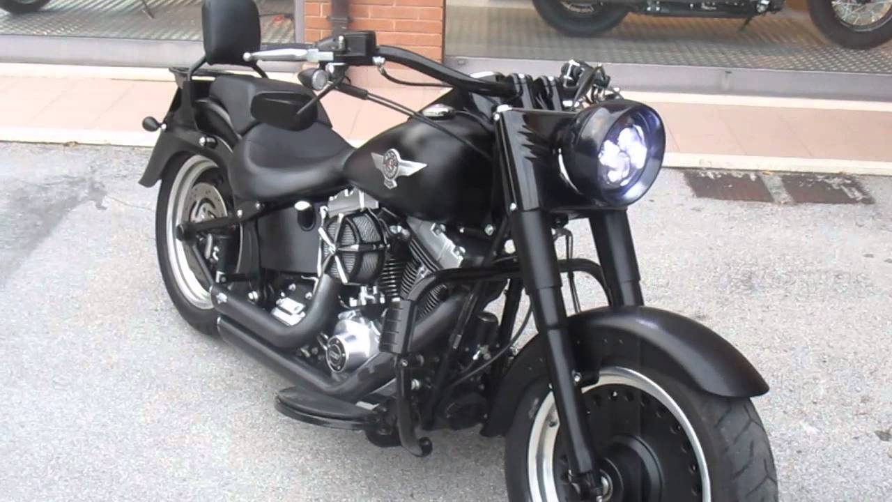 harley davidson flstfb fat boy special 2014 usato youtube. Black Bedroom Furniture Sets. Home Design Ideas
