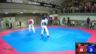 1018-Mrzljak, Helena  ELITE (CRO) vs Cennamo, Assunta  FUTURAMA (ITA)  9-7