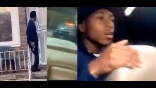1 Leg Goon Get In Sh**tout With Opps & 3 Goons In Car Chase With Cops On Live..DA PRODUCT DVD