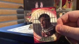 2016 Upper Deck Doctor Strange Box Break and Review