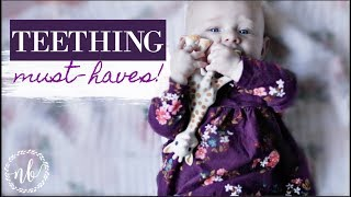 TEETHING MUST-HAVES! | products + natural remedies | Natalie Bennett