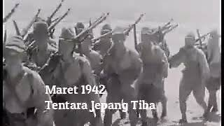 1942 Datangnya Tentara Jepang Di Pulau Jawa
