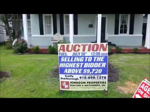 AUCTION: SOLD! 307 N. McKay Avenue in Dunn, NC - Harnett County