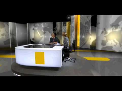ITV News at Ten - Long close with Excellent End-Shot Directing - 16th November 2011