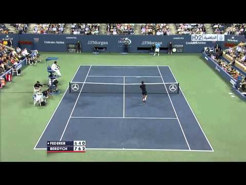 US 2012 QF Federer Vs Berdych