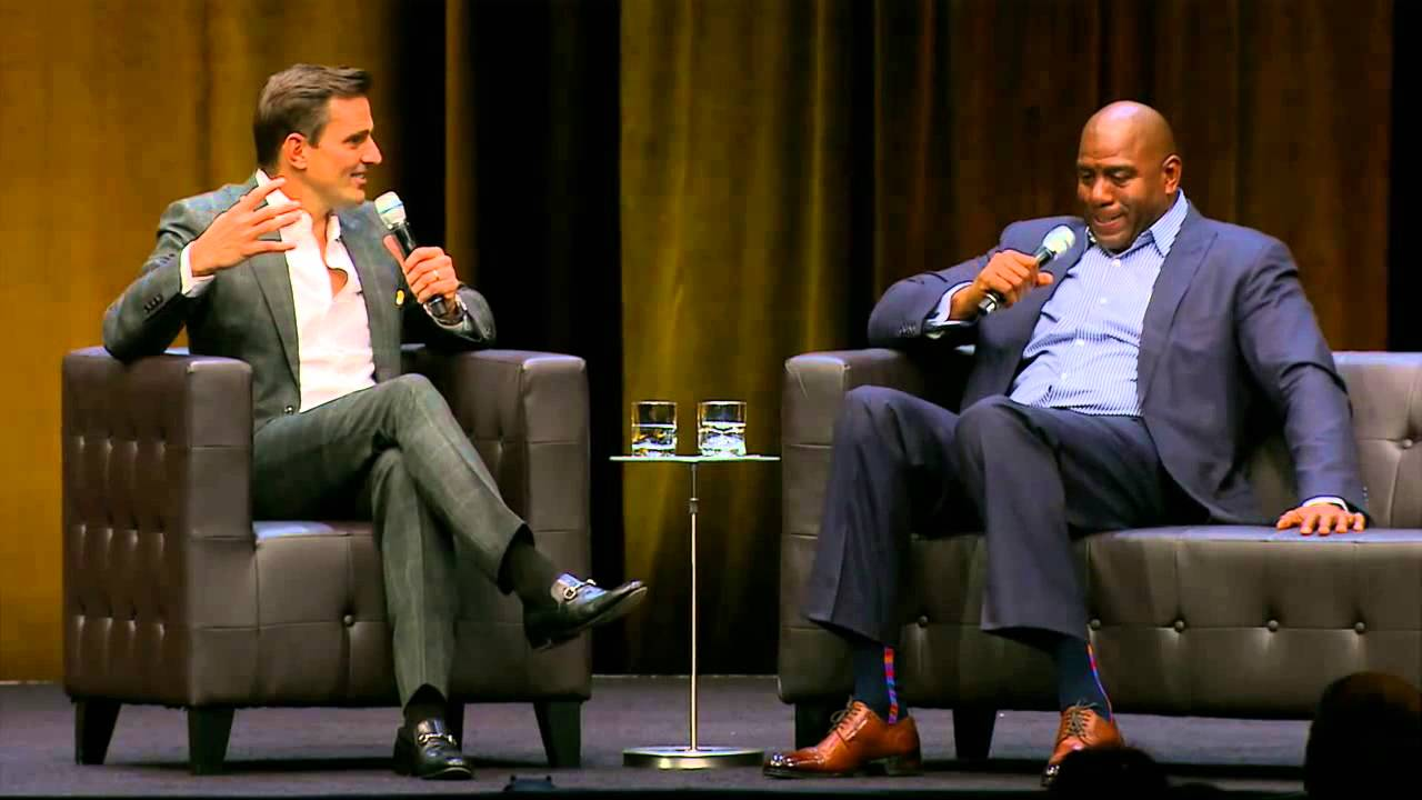 QuickBooks Connect 2014 - Earvin Magic Johnson in conversation ...