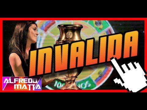 Copa America Centenario 2016: COPA INVALIDA - 동영상
