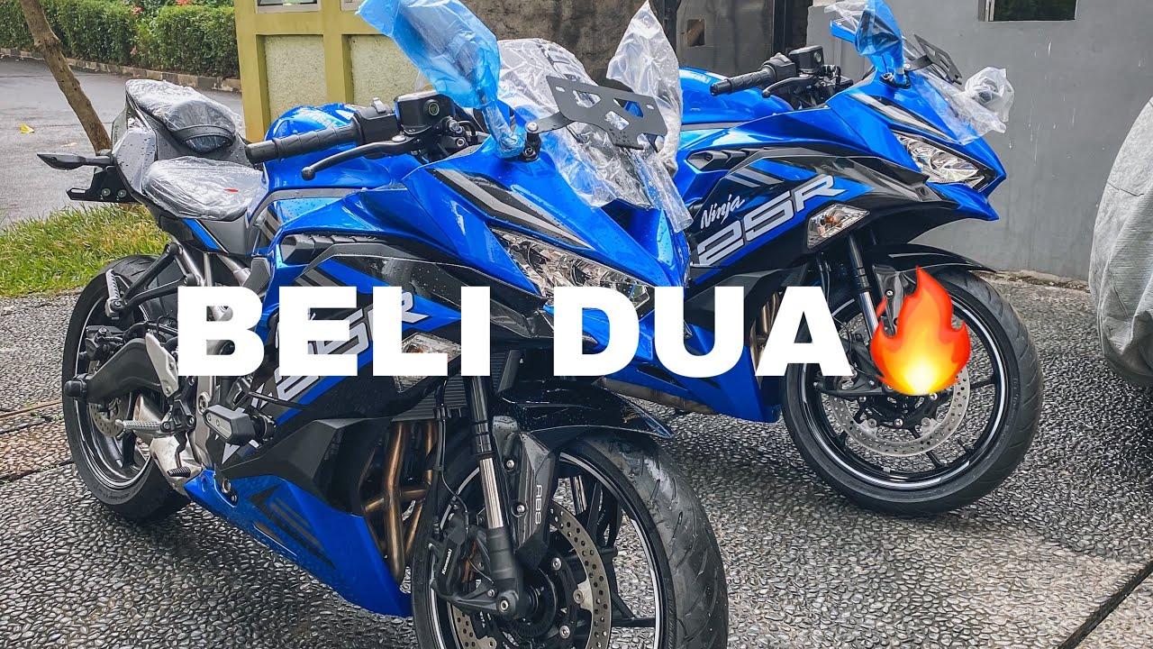 JADI 3 MOTOR?! ☺️ NAMBAH ZX25R BIRU LAGI 😍 GANTENG BGT BOUSS🔥