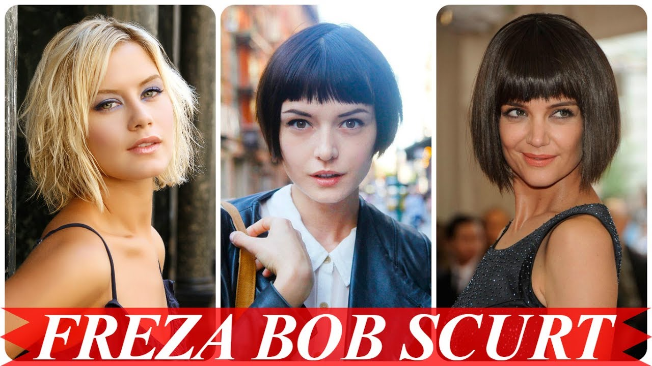 Modele De Tunsori Bob Par Scurt Femei Youtube