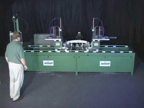 Joseph Machine Company RTM-1000 dual adjustable angle automated saws RTM-1000.wmv