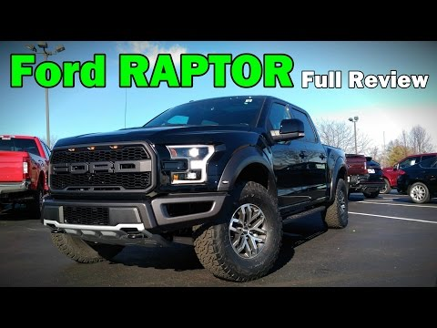 2017 Ford F-150 Raptor: Full Review | SuperCab & SuperCrew