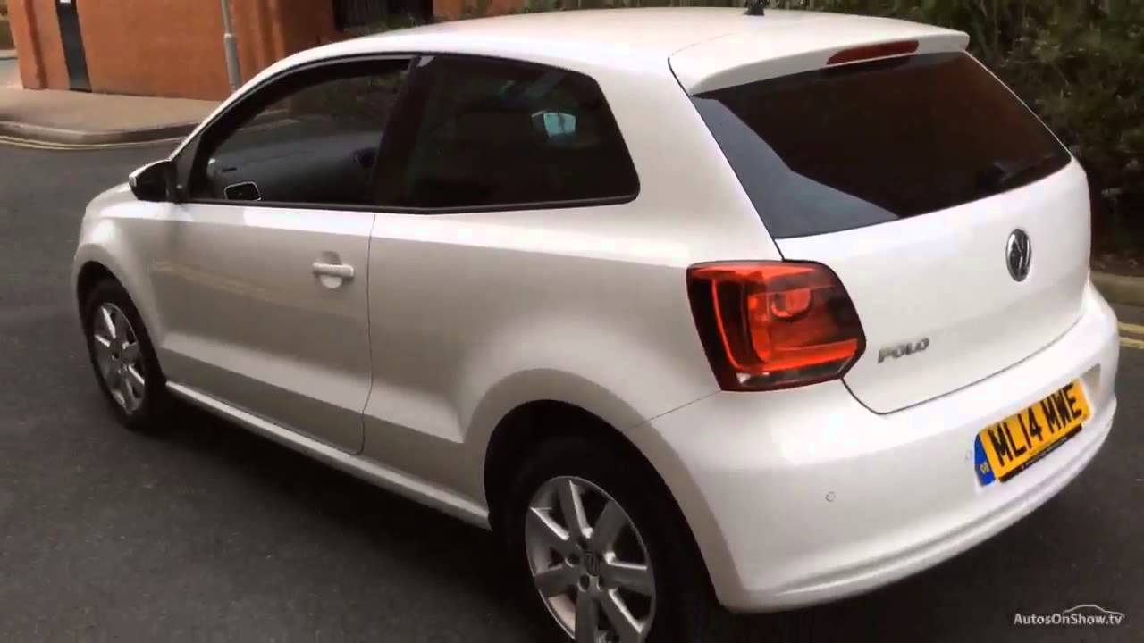 volkswagen polo match edition white 2014 youtube. Black Bedroom Furniture Sets. Home Design Ideas