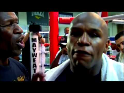 Floyd Mayweather's jr. feud with father on 247