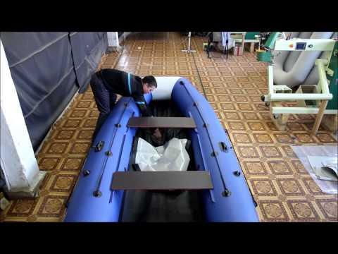 Сборка надувной лодки
