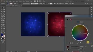 Abstract background. Tutorial Adobe Illustrator CC for beginners