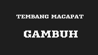 Gambar cover Tembang Macapat Gambuh (Panduan Belajar)