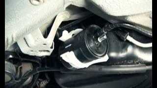Замена топливного фильтра Форза / Чери А13