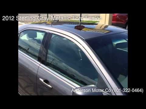 2012 Sterling Gray Metallic Ford Fusion - Salt Lake City, UT 84111 - Used Cars